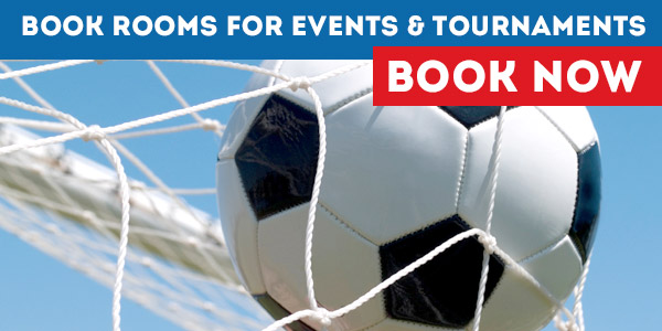 Book Rooms for Sports Tournaments