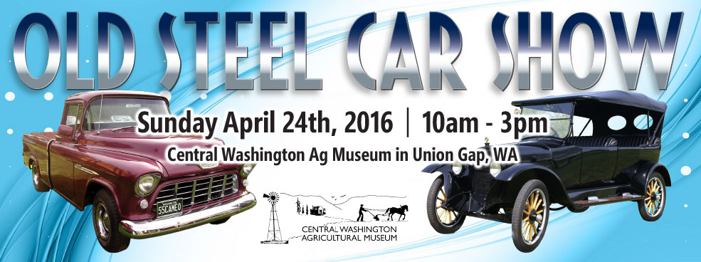 Old Steel Car Show Banner