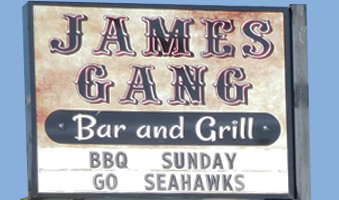 JAMES GANG BAR/GRILL