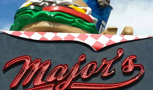 MAJORS BURGERS - TAKEOUT